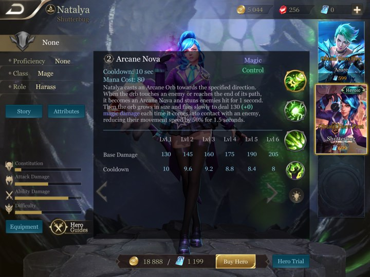 Arena of Valor HEROES GUIDE 3B