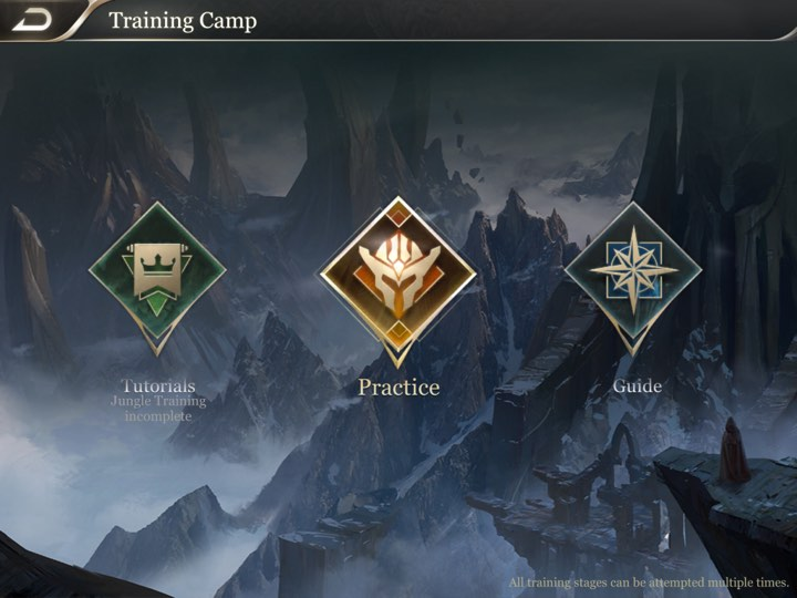 Arena of Valor Training Camp 1