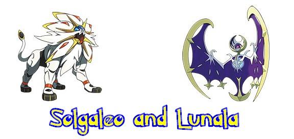 solgaleo and lunala
