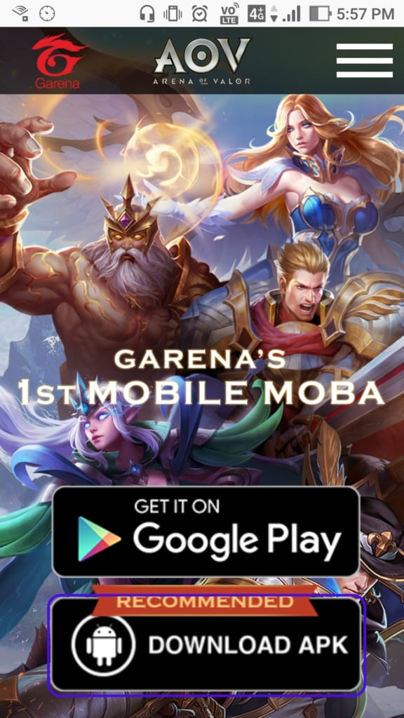 Arena of Valor APK 5