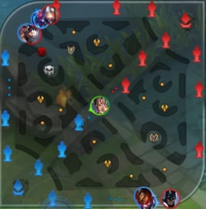 Arena of Valor Sample Map