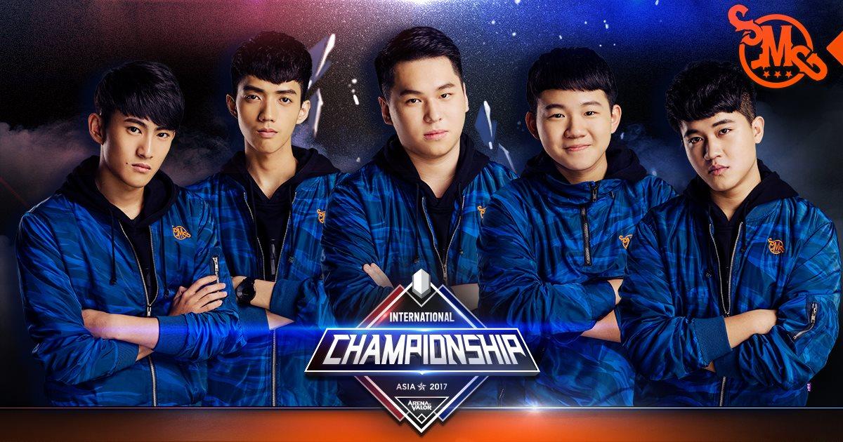 Arena of Valor International Championship (AIC) 2017 Champion SMG