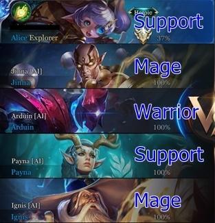 Arena of Valor Losing Team