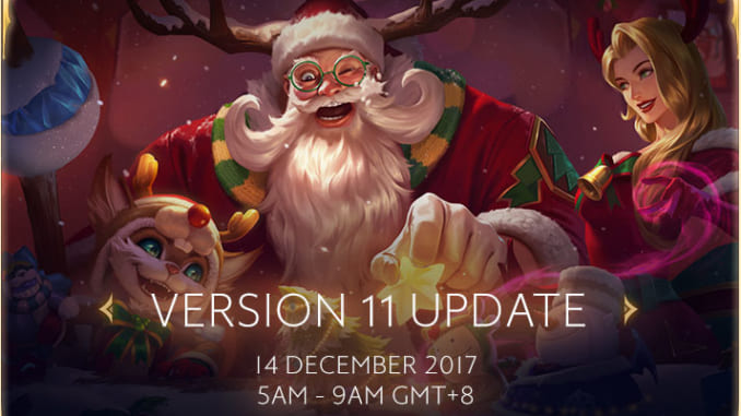 Arena of Valor - SEA Server Version 11 Update
