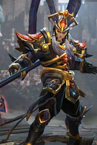 Arena of Valor Dread Knight Lu Bu