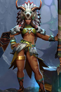 Arena of Valor Tribal Chief Taara