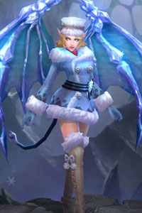 Arena of Valor Snow Angel Veera