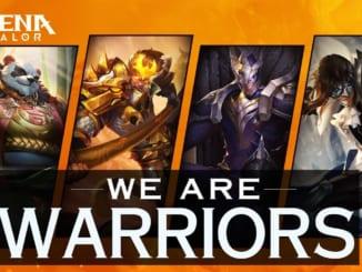 Arena of Valor Warrior Heroes