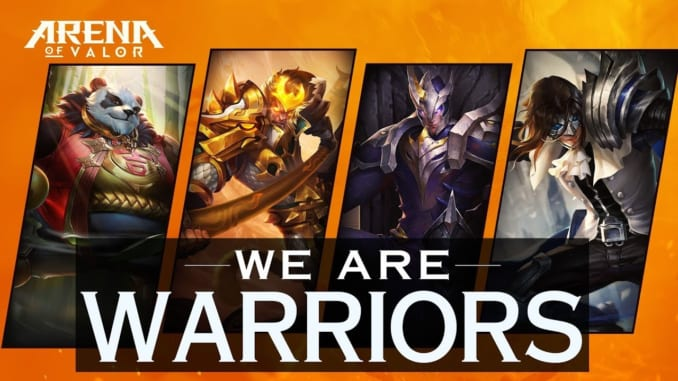 Arena of Valor Warrior Heroes