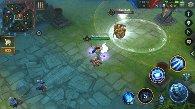 Arena of Valor Harass