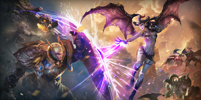 arena of valor fight