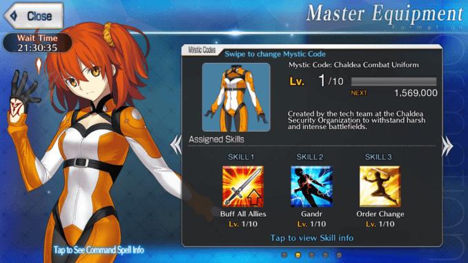Chaldea Combat Uniform Mystic Code - SAMURAI GAMERS
