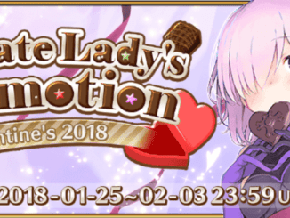 FGO Valentine's 2018 - Chocolate Lady's Commotion