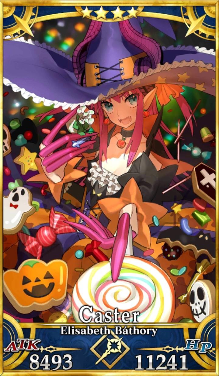 FGO Elisabeth Bathory Halloween