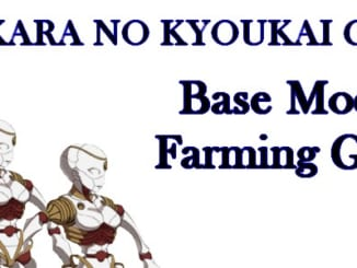 FGO Base Model Farming