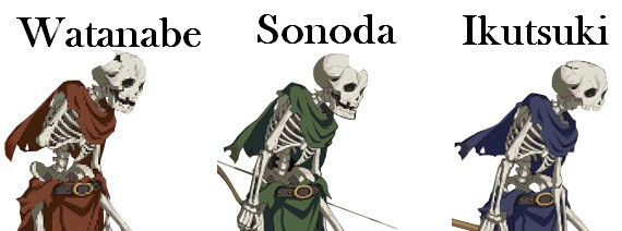 FGO Apartment Skeleton Variants