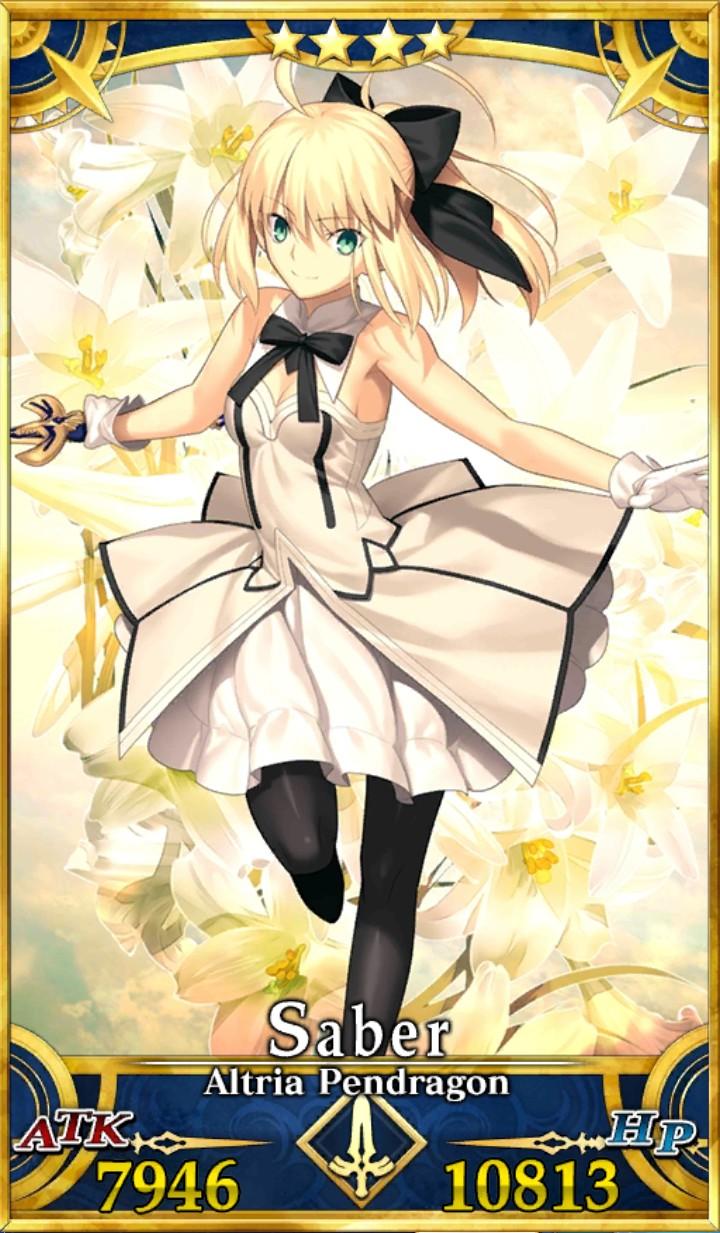 FGO Altria Pendragon Lily