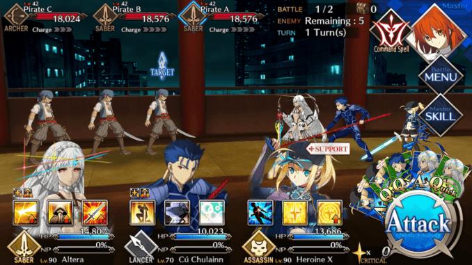 FGO Room 604 Battle 1