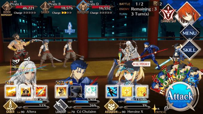 FGO Room 604 Battle 2
