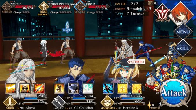 FGO Room 604 Battle 3