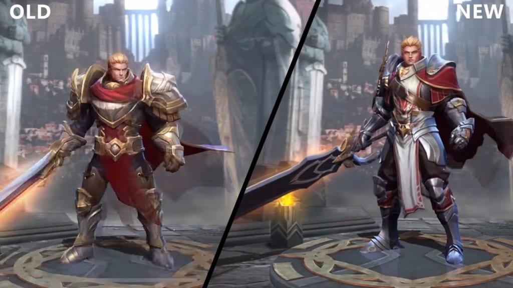 Arena of Valor Arthur model update