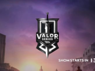 Valor Series Opening Screen