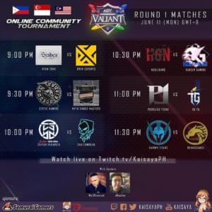 AOV Valiant Online Community Tournament Day 3