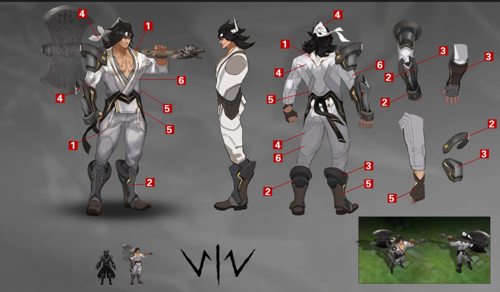 Arena Of Valor Aov Who Is Wiro Sableng Samurai Gamers