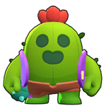Brawl Stars Spike Default Skin