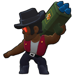 Brawl Stars Brock Default Skin