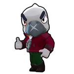 Brawl Stars White Crow