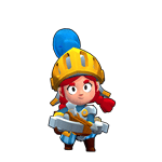 Brawl Stars Dragon Knight Jessie