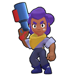 Brawl Stars Shelly Default Skin