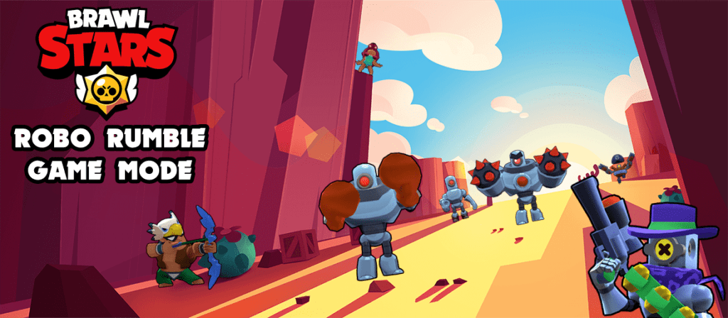 Brawl Stars Robo Rumble Mode