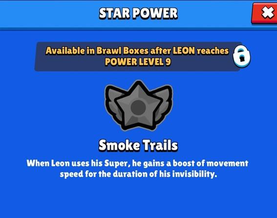 Brawl Star Leon Star Power