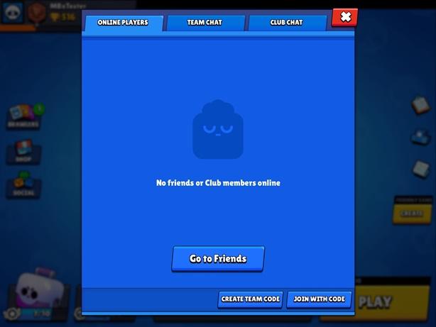 Brawl Stars Online Players Tab