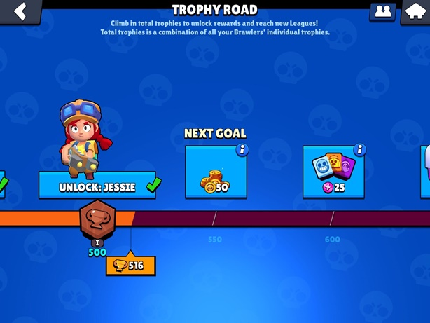 Brawl Stars Trophy Road