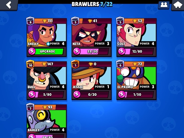 Brawl Stars Brawlers List
