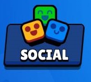 Brawl Stars Social Button