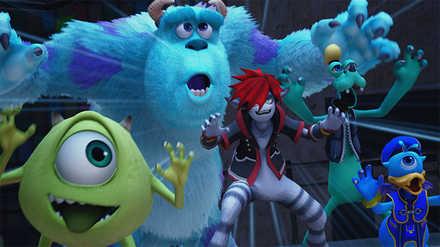 KH3 Monstropolis (Monsters, Inc.)