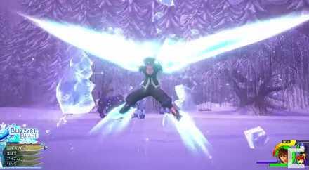 KH3 Crystal Snow Keyblade Revealed