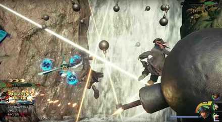 KH3 Sora and Jack Sparrow Team Attack