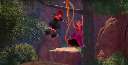 KH3 Rapunzel and Sora