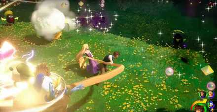 KH3 Rapunzel Link Summon