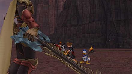 KH2 Terra Keyblade Armor