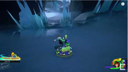 KH3 Goofy Curling Mini Game
