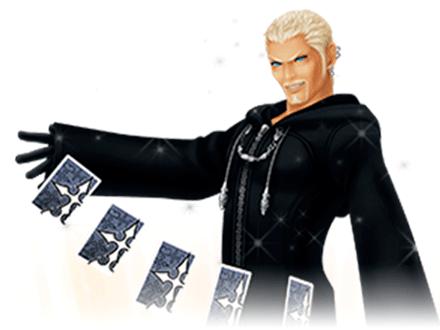 Luxord Character Information - SAMURAI GAMERS