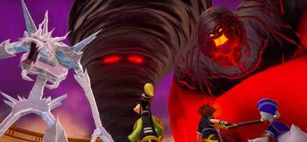 KH3 Trailer Olympus Enemies