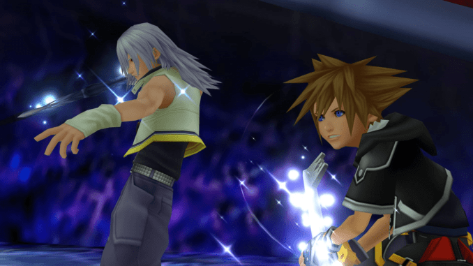 KH2 Riku and Sora