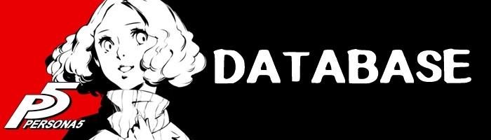 Persona 5 - Database